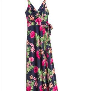 Market and Spruce Helena Faux Wrap Dress